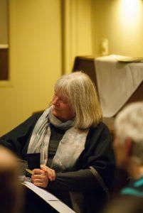 Ursula Thomsen-Marwitz, Verein ees. E.V. auf der Veranstaltung Flensburg braucht eine Wasserstofftankstelle für die Energiewende am 31.03.2017 in Flensburg (Borgerforeingen);